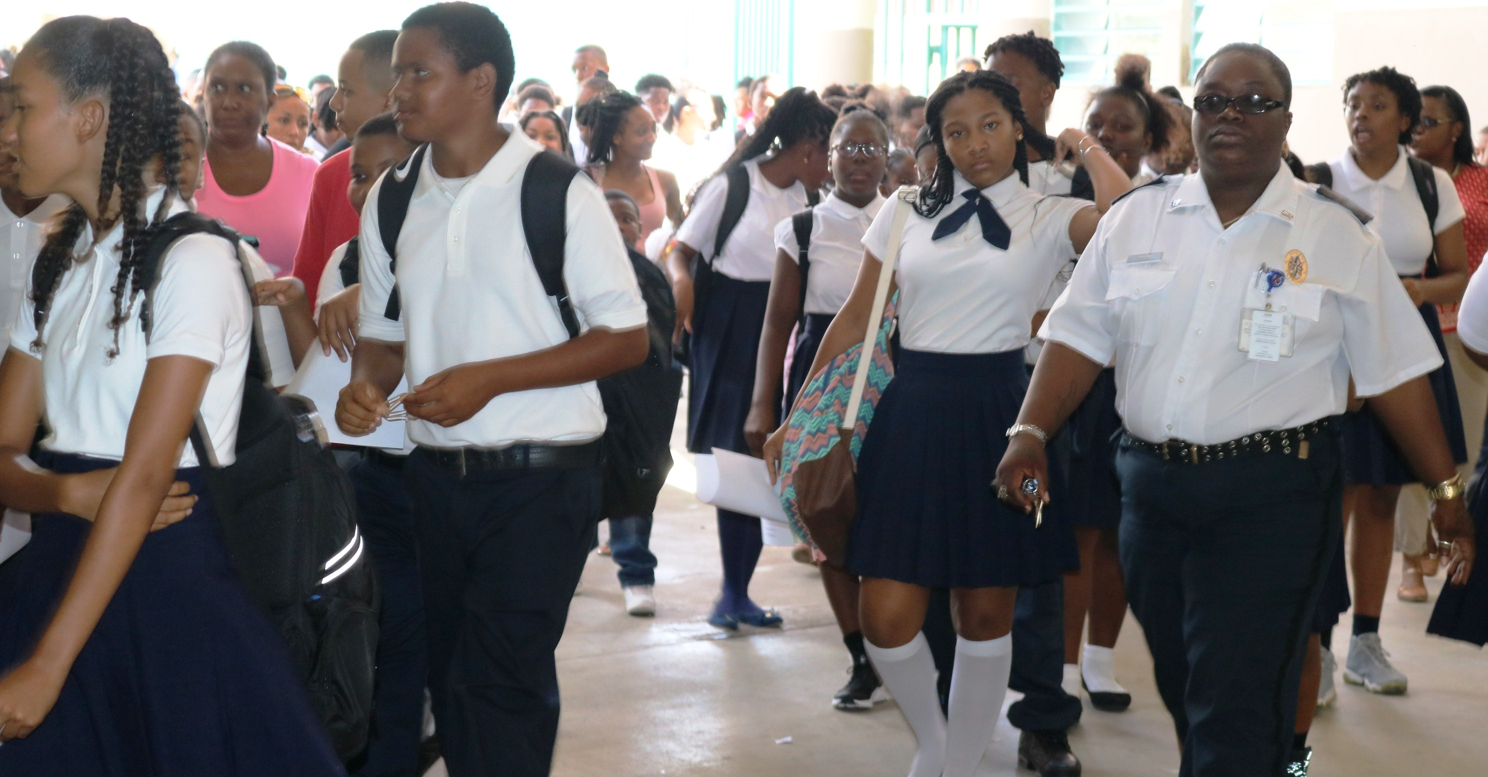 St. Croix Students Back in the Classroom
