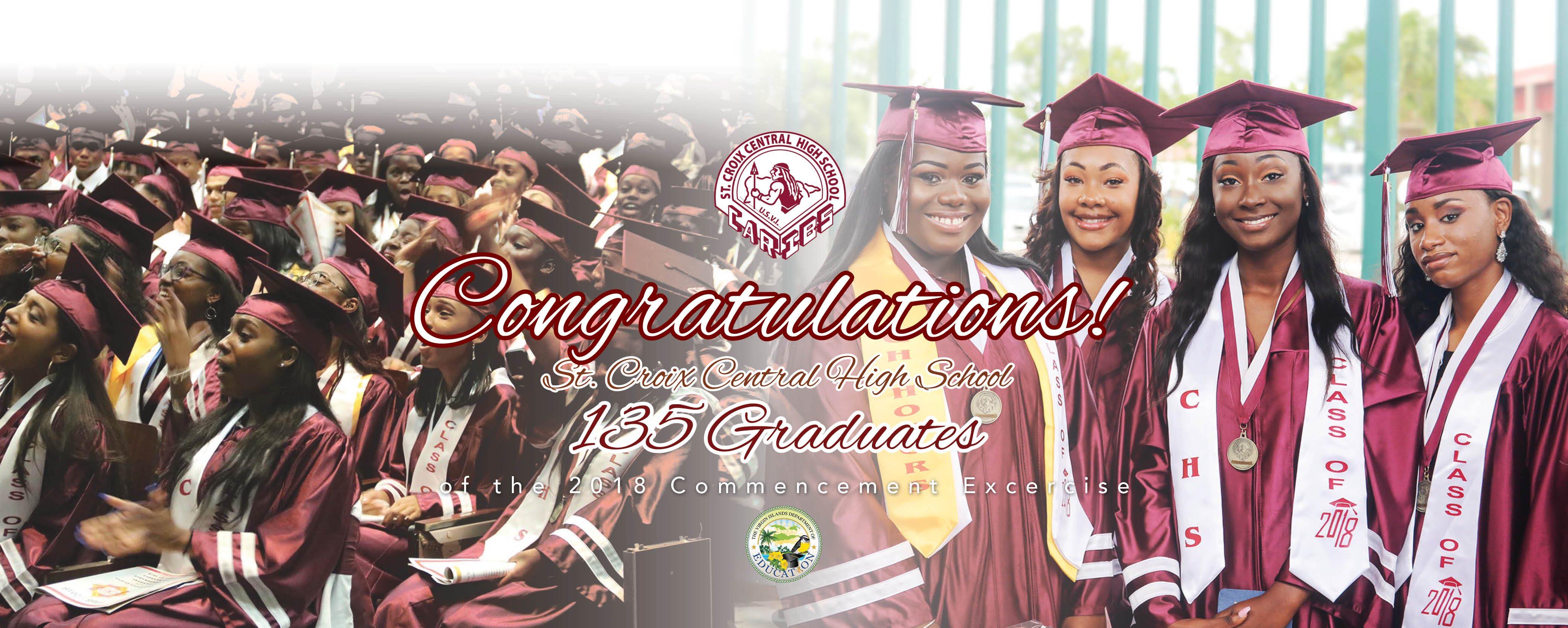CHS Graduates 135 in