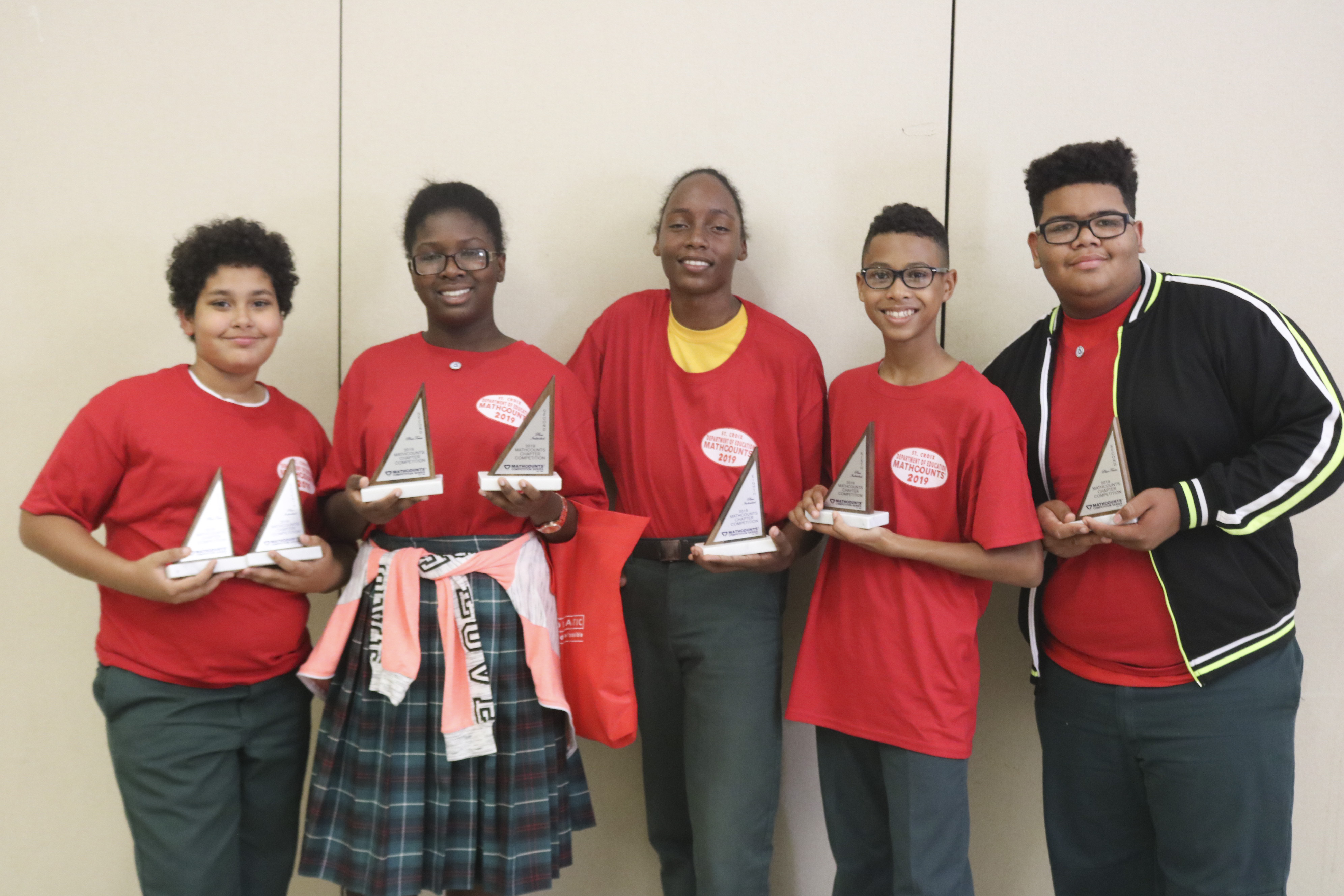 2nd Place Church of God (Left to Right) Samir Boucenna; Tiara Stevens; Zanyjah Rodriguez; Jaden Gonzalez and Jose Nunez  .JPG