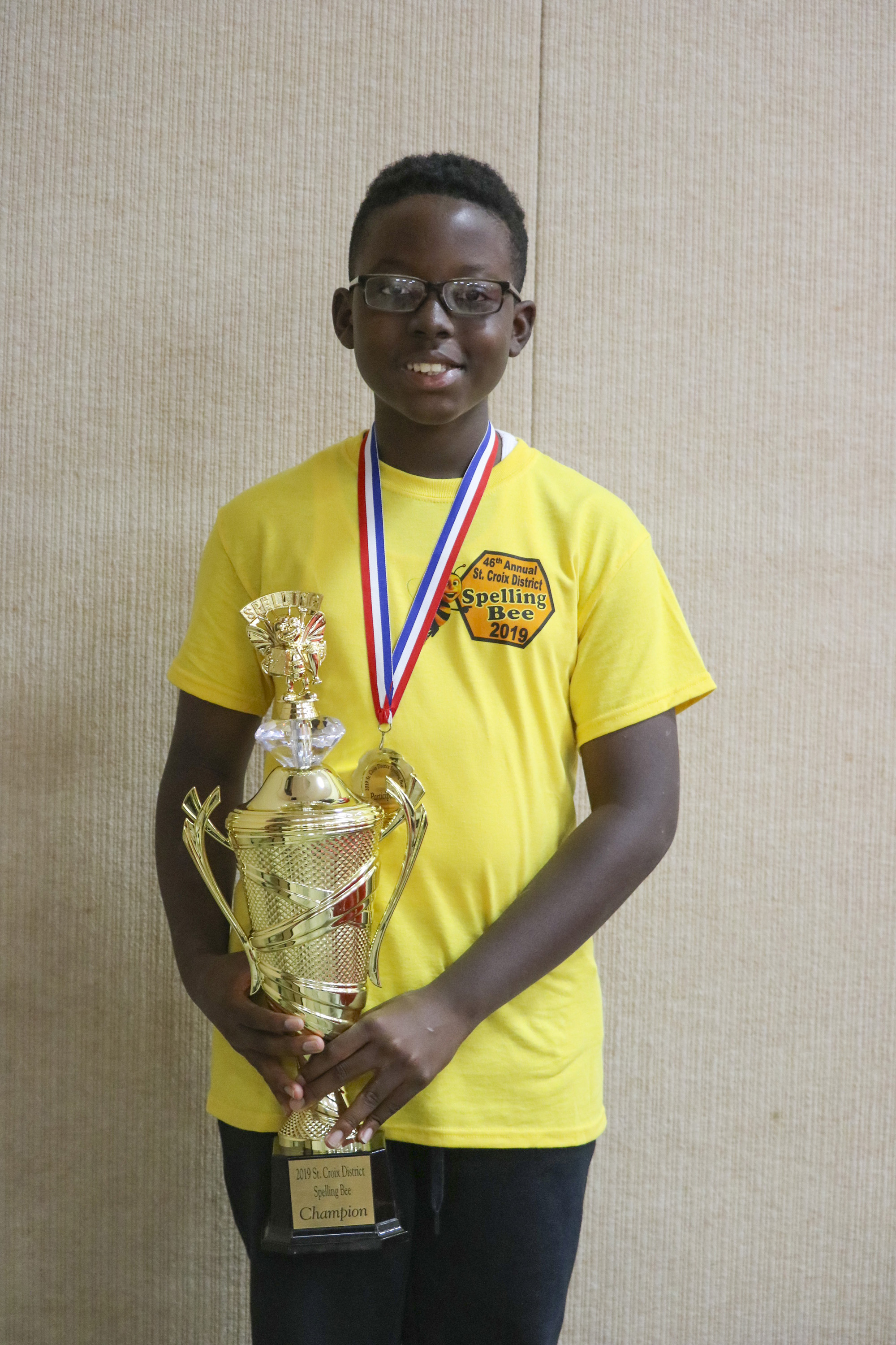 2019 STX District Spelling Bee Winner Michael Atwell01.JPG