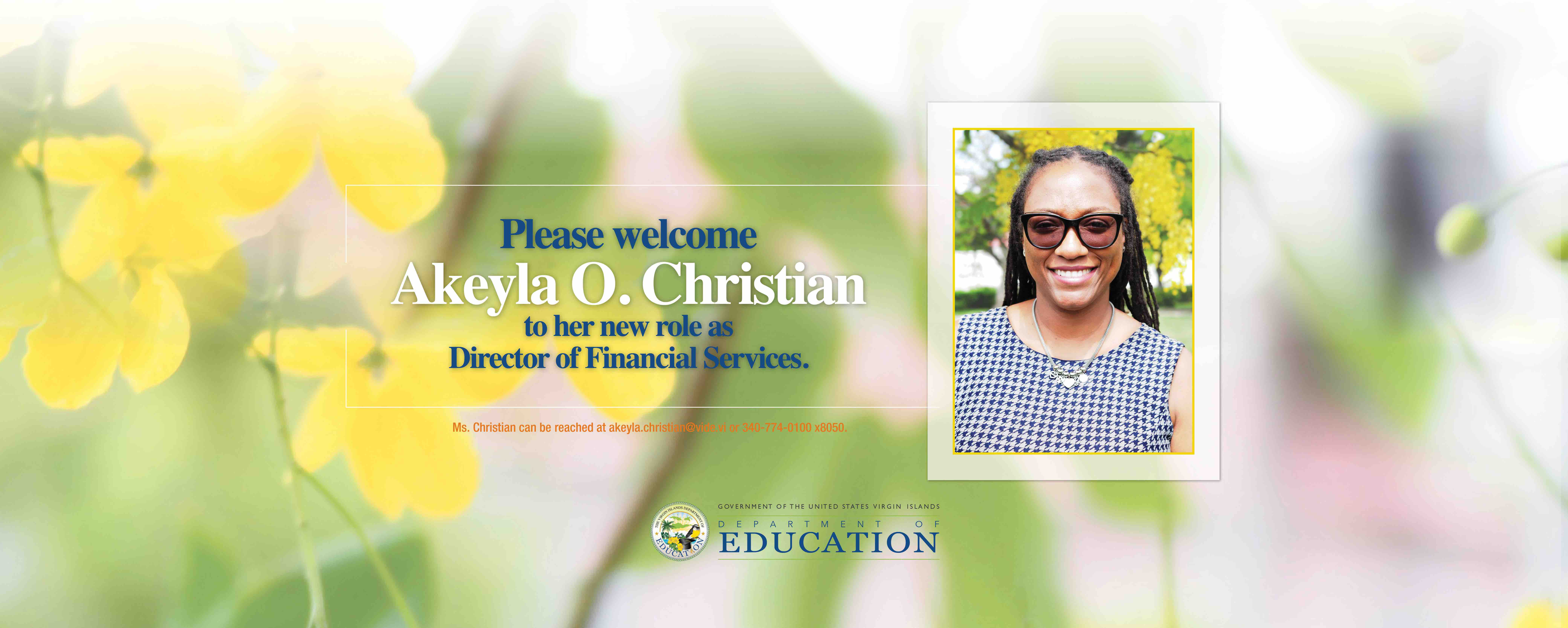 VIDE Welcomes Akeyla O. Christian to its team