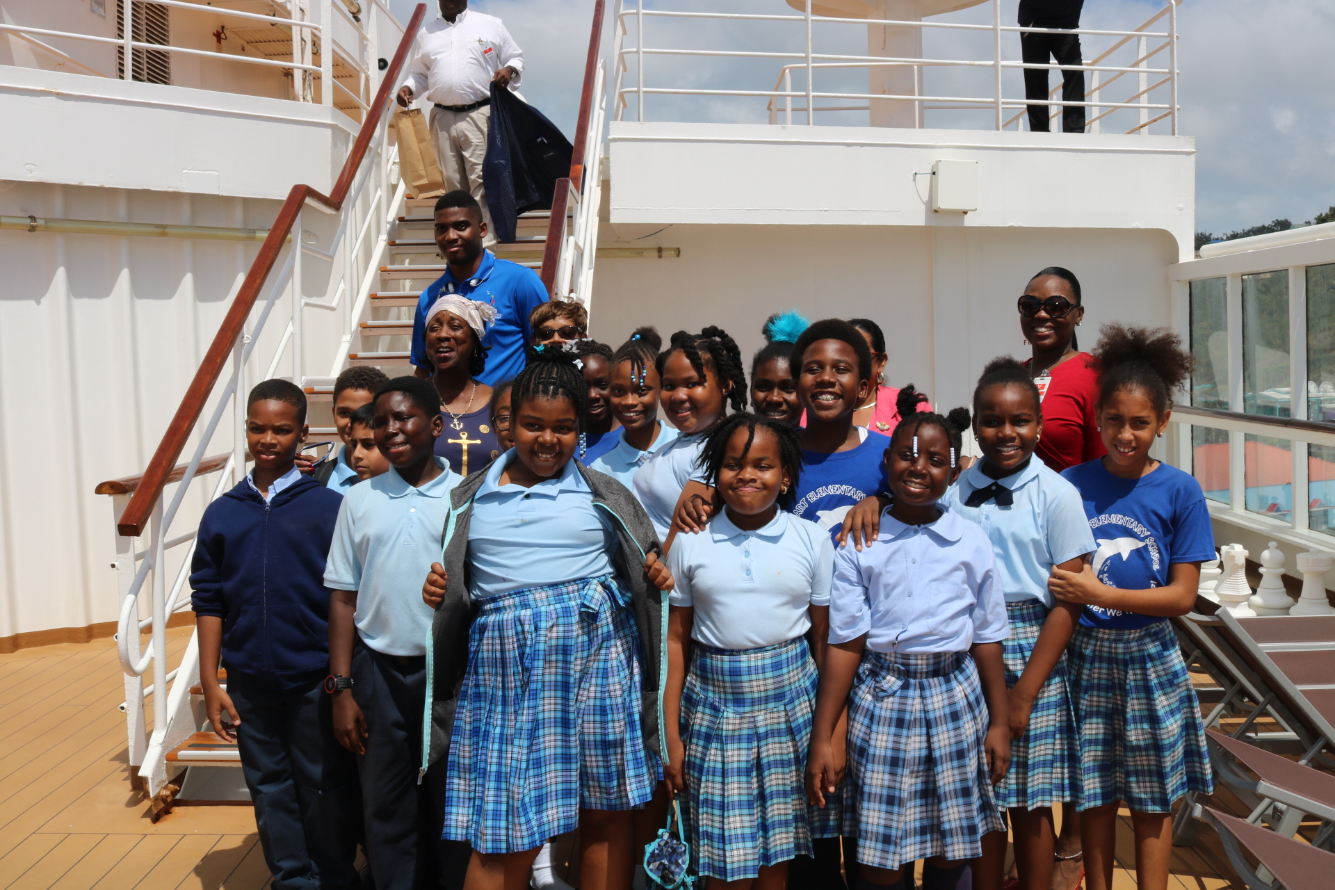 Lockhart Students Aboard the ms Prinsendam.jpeg