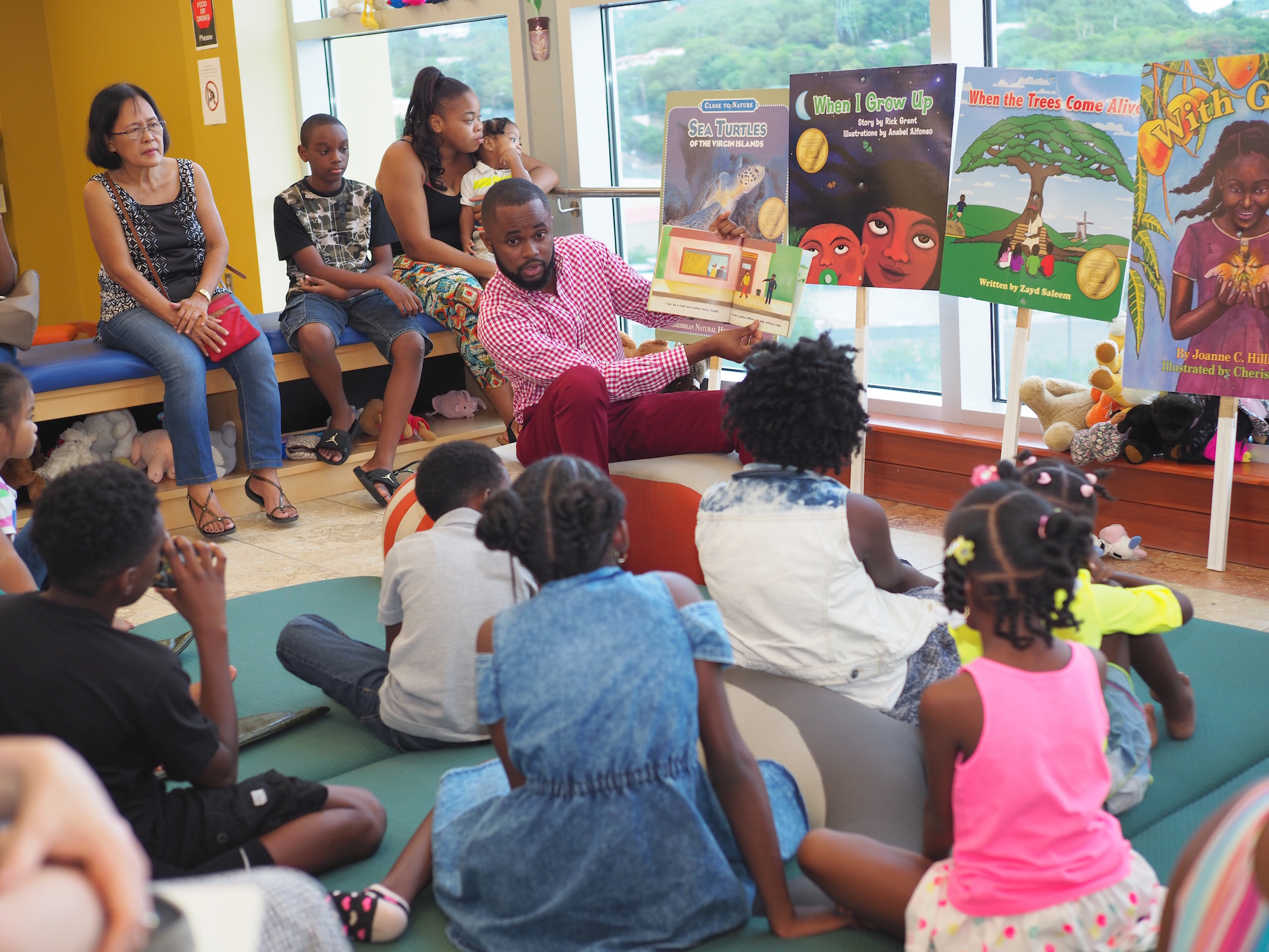 Night at the Library Delivers Literacy Fun for the Entire Family