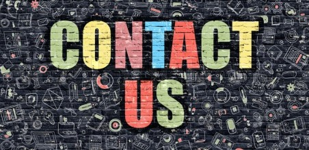 Image result for contact us multicolor