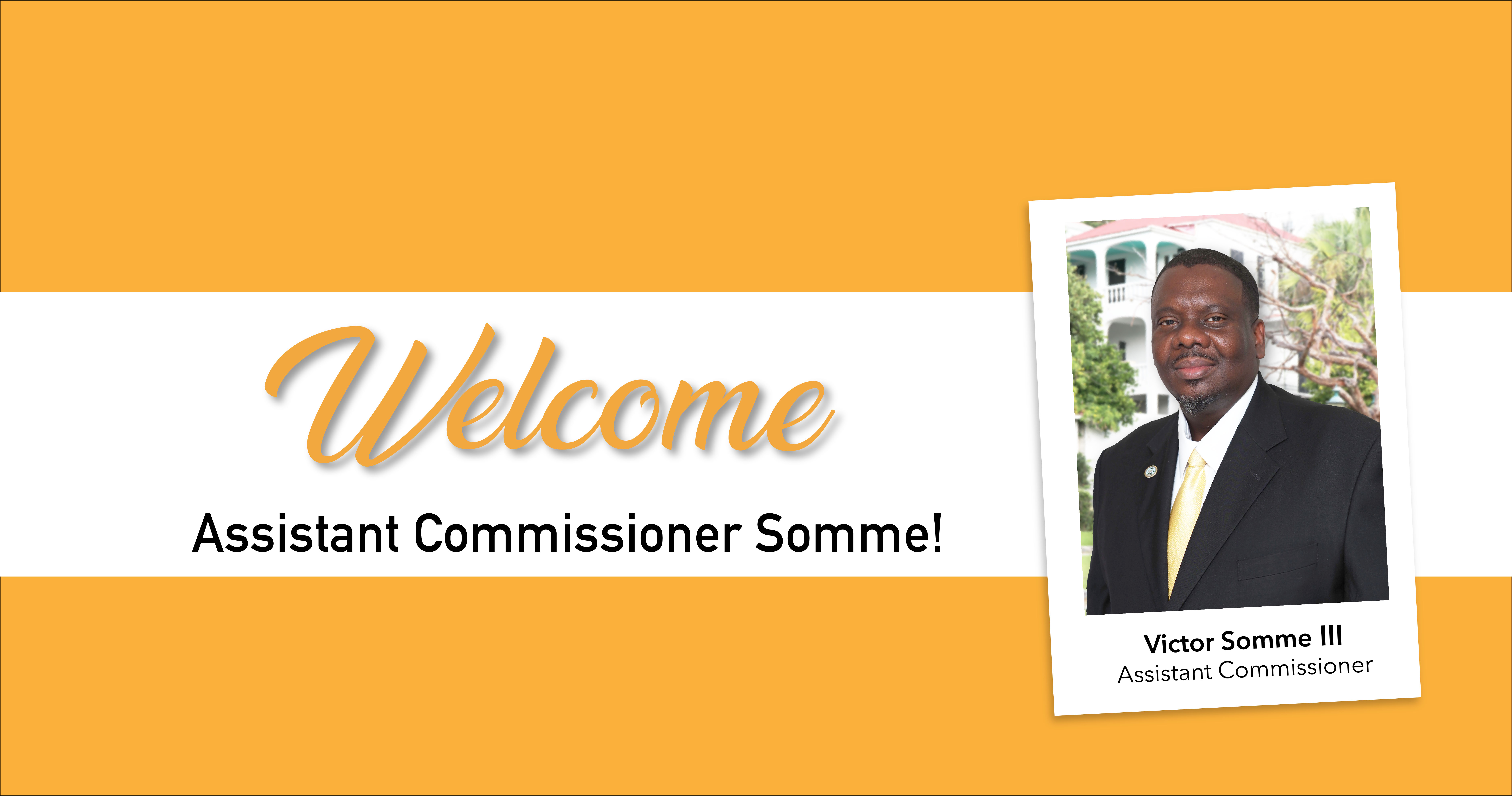 Congratulations, Assistant Commissioner Somme!