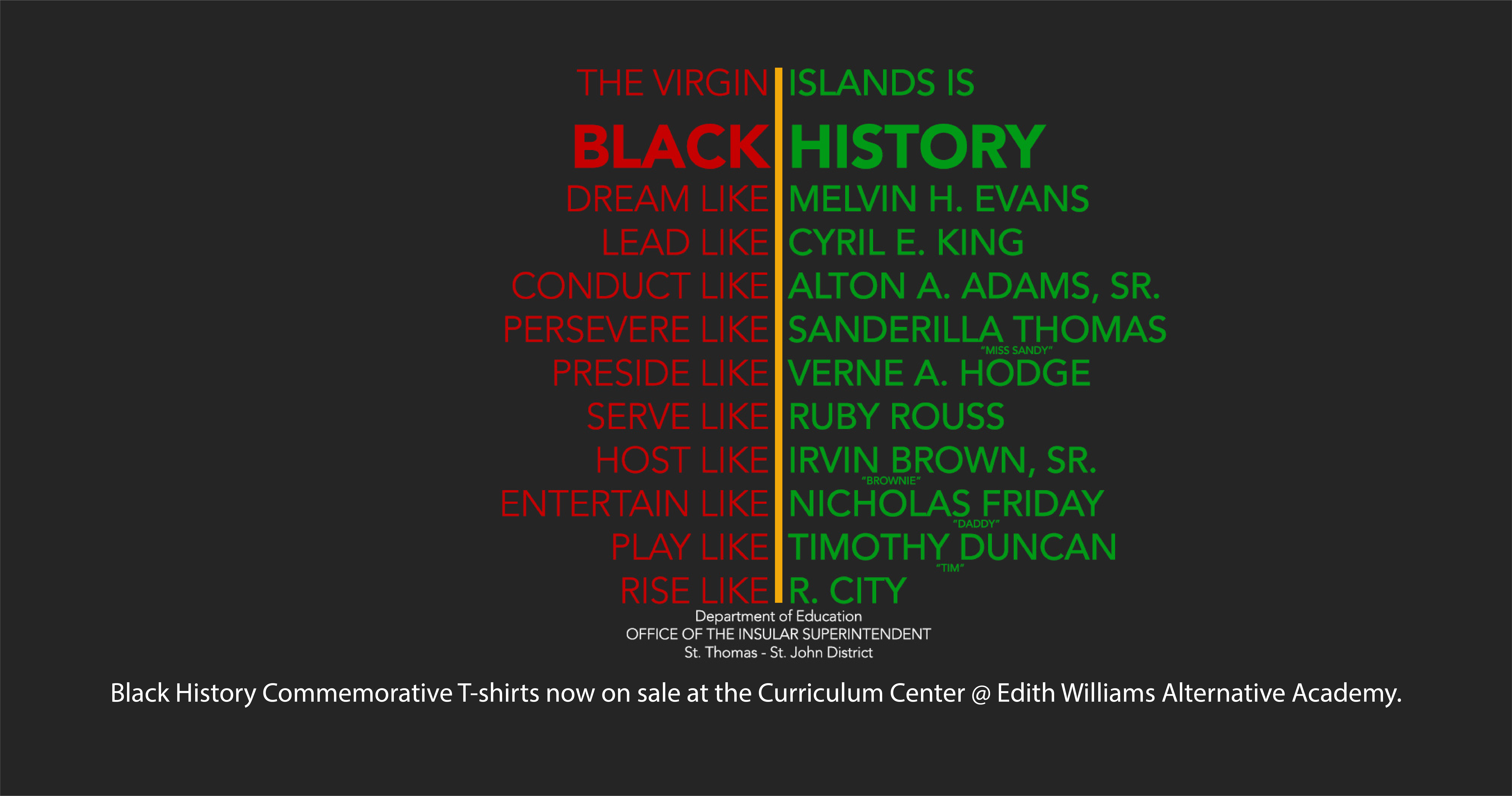 Get Your Black History Commemorative T-Shirt Today!