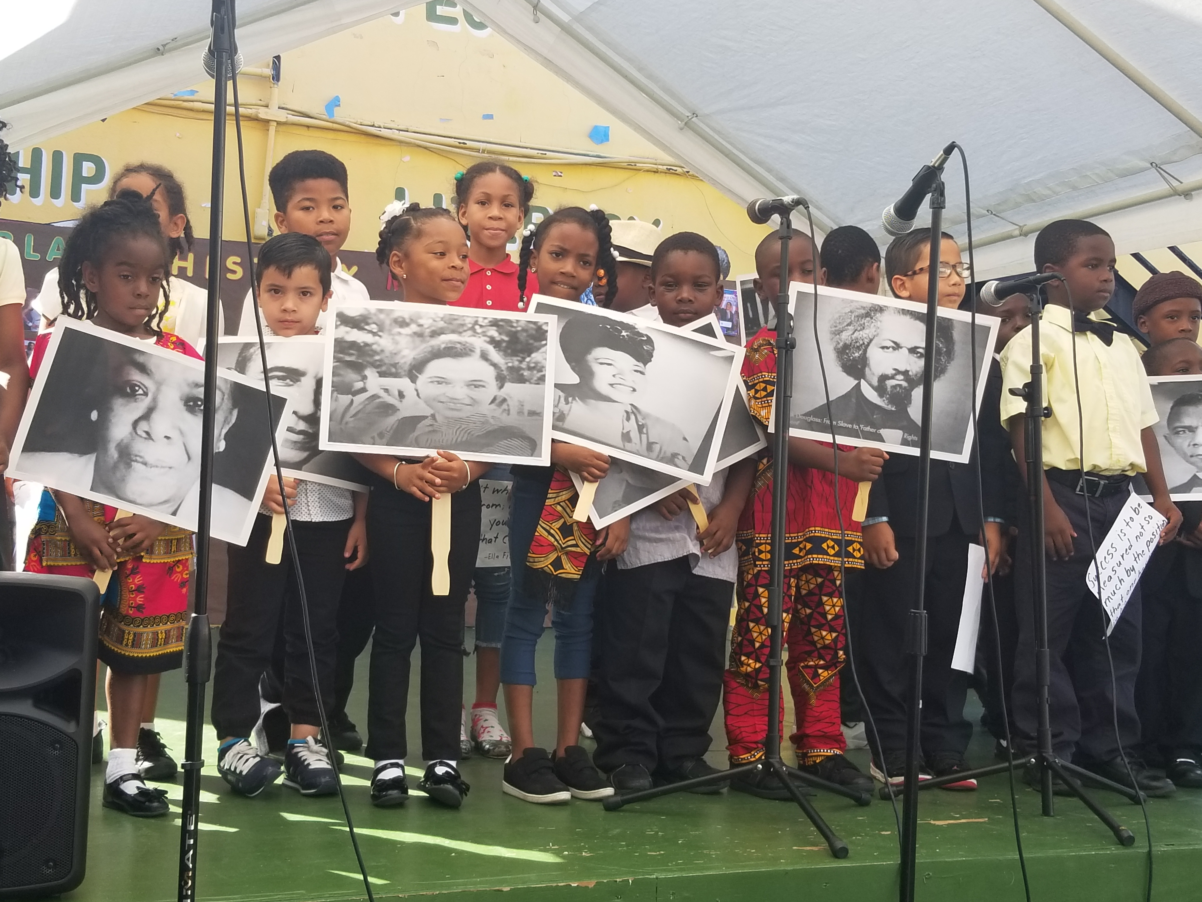 Tuitt Primary School Celebrates Black History Month with Special Assembly - Photo Highlights