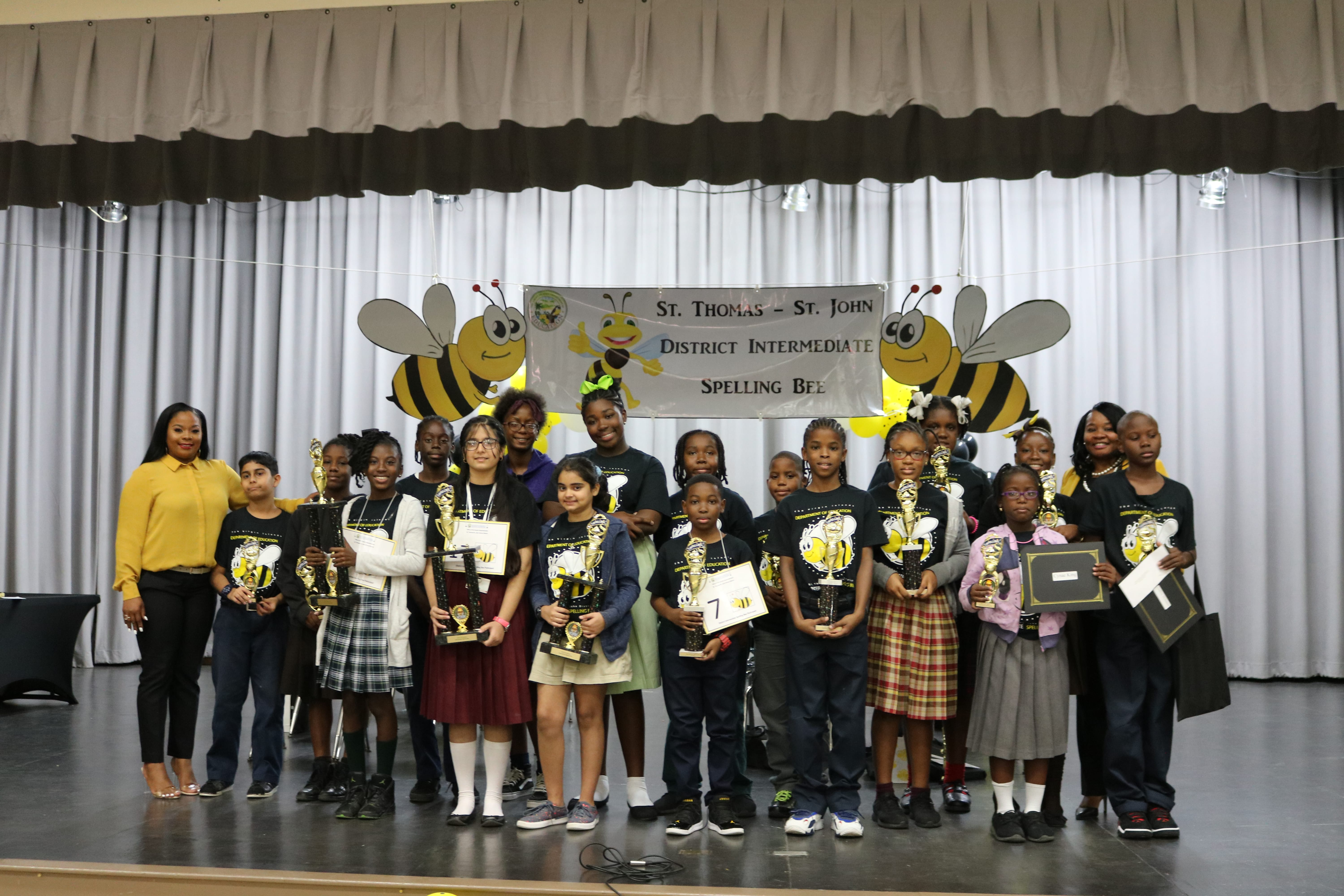 All Saints 7th Grader DaJahnelle Joseph secures STTJ District Spelling Bee Championship